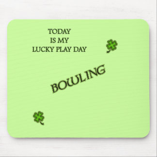 Lucky Play Day Bowling Mousepad
