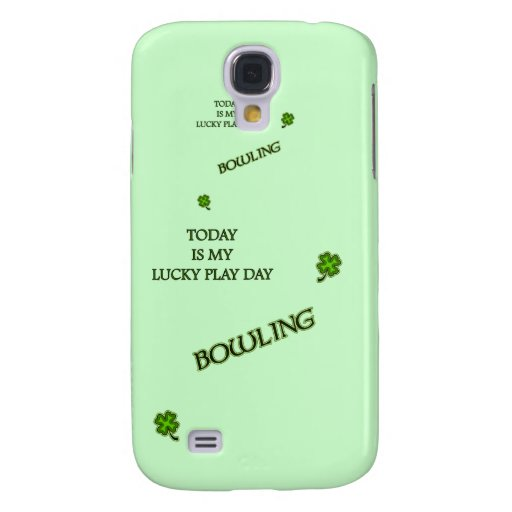 Lucky Play Day Bowling Samsung Galaxy S4 Cover
