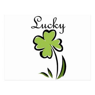 Lucky Postcard