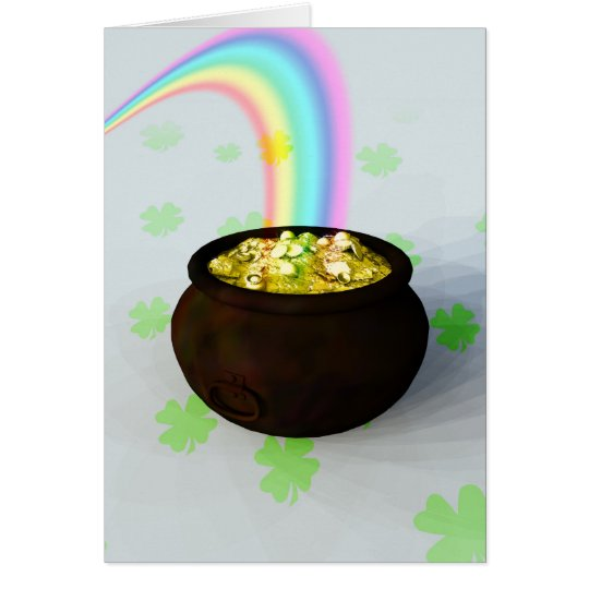 Lucky Pot of Gold Card