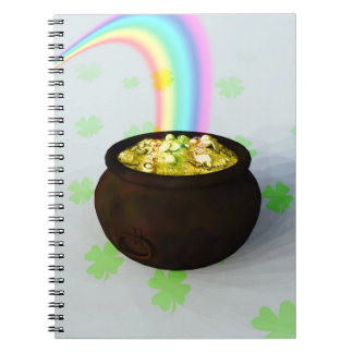 Lucky Pot of Gold Notebook