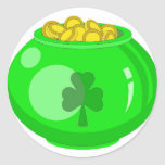 Lucky Pot O'Gold Stickers