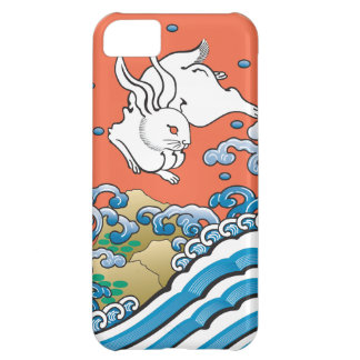 Lucky Rabbit Red Cover For iPhone 5C