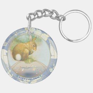 Lucky Rabbit | Zodiac keychain