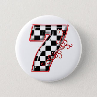 lucky race number 7 button