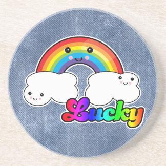 lucky rainbow coasters