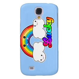 lucky rainbow galaxy s4 cover