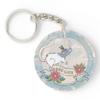 Lucky Rat | Zodiac keychain