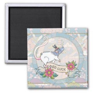Lucky Rat | Zodiac magnet