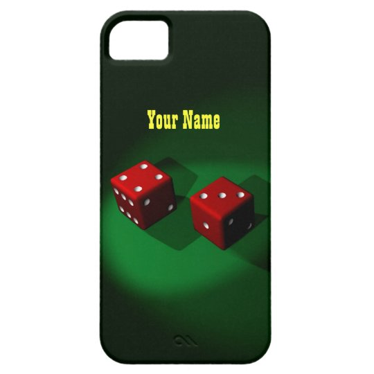 Lucky Red Dice Case Mate