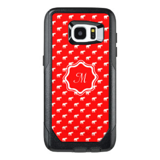 Lucky Red elephant OtterBox Samsung Galaxy S7 Edge Case