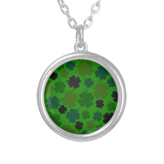 Lucky Round Pendant Necklace