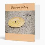 Lucky Sand Dollar Vinyl Binders