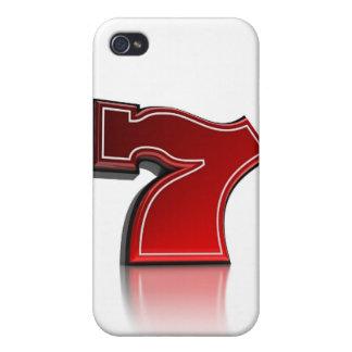 Lucky Seven - iPhone 4 case
