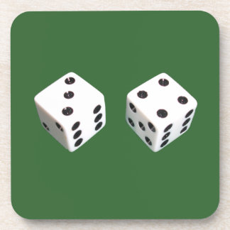 Lucky Seven Roll of Dice Coaster