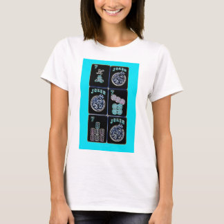 Lucky Sevens and Jokers #2~Mah Jongg T-Shirt