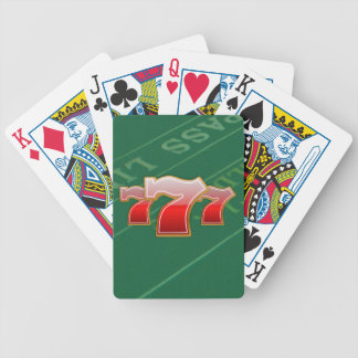 Lucky Sevens - Slot Machine Jackpot Bicycle Playing Cards