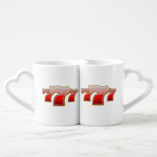Lucky Sevens - Slot Machine Jackpot Coffee Mug Set