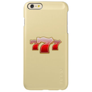Lucky Sevens - Slot Machine Jackpot Incipio Feather Shine iPhone 6 Plus Case