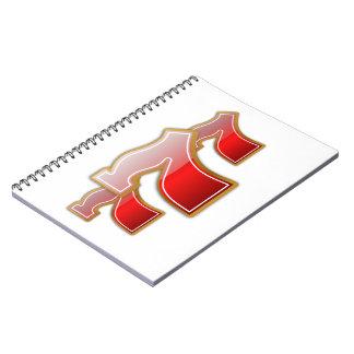 Lucky Sevens - Slot Machine Jackpot Notebook