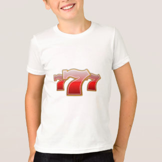 Lucky Sevens - Slot Machine Jackpot T-Shirt