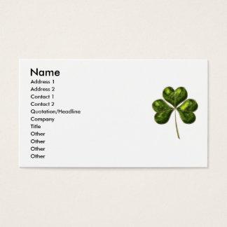 Lucky Shamrock 1 Business Card