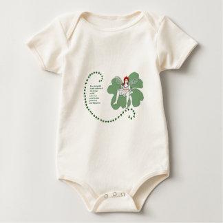 Lucky Shamrock Baby Bodysuit