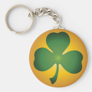 Lucky Shamrock Basic Keychain