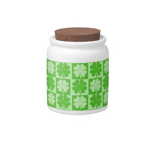 Lucky Shamrock Candy Dish