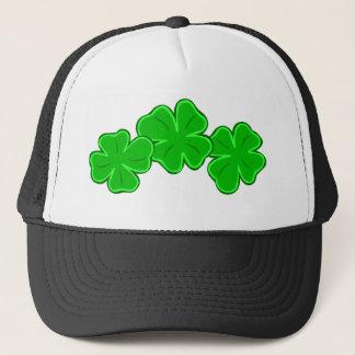 Lucky Shamrock Four Leaf Clover Hat