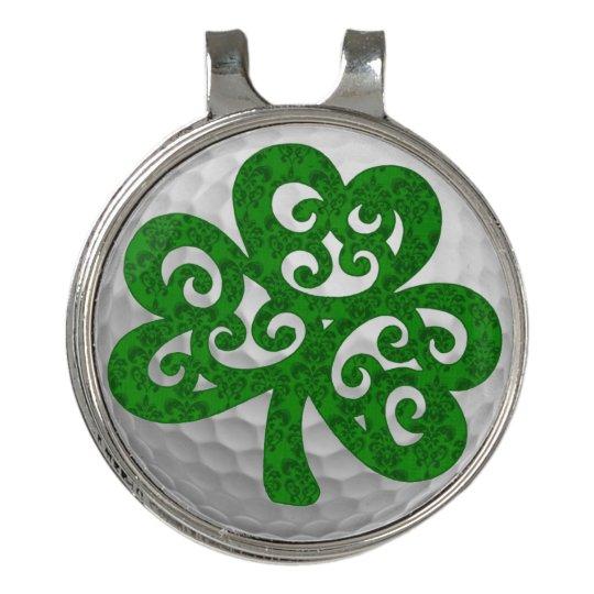Lucky Shamrock Golf Hat Clip Ball Marker  df7164497d75