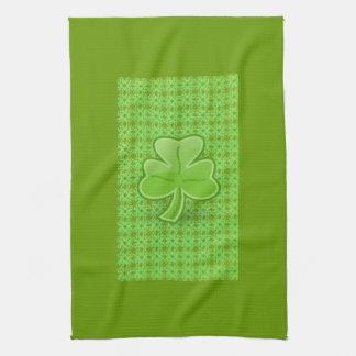 Lucky Shamrock Kitchen Towel