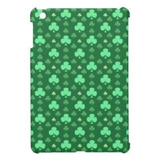 Lucky Shamrock Pattern iPad Mini Covers