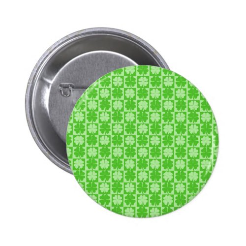 Lucky Shamrock Pinback Button
