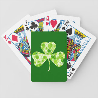Lucky shamrock Playing Cards Bicycle Playing Cards