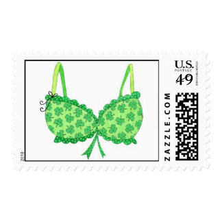 Lucky Shamrock Swimsuit Top Postage