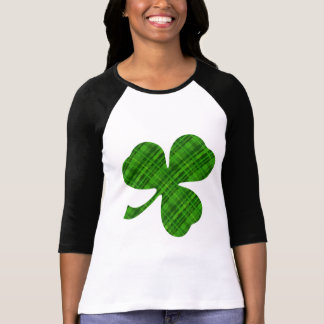 Lucky Shamrock Women's Bella 3/4 Sleeve Raglan T T-Shirt