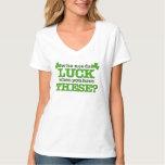 Lucky Shamrocks for Women T-shirt