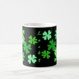 Lucky Shamrocks Magic Mug