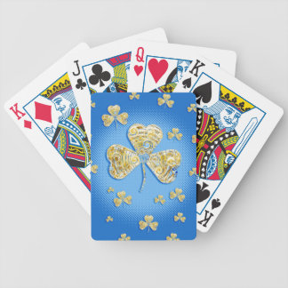 Lucky shamrocks Playing Cards Bicycle Playing Cards