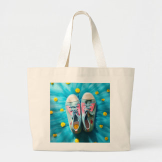 LUCKY SHOES LARGE TOTE BAG