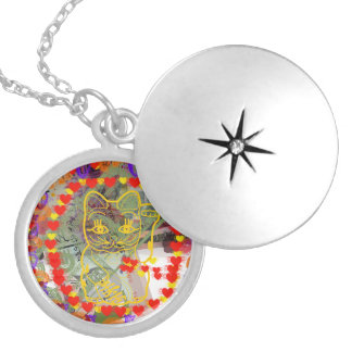 Lucky Silver Plated Necklace
