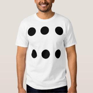 lucky six tee shirt