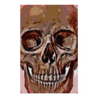 Lucky Skull Customized Stationery