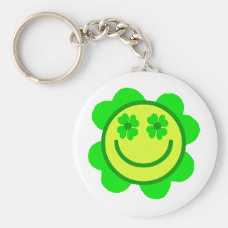 Lucky Smiley Keychain
