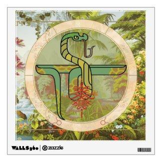 Lucky Snake | wall art Wall Decal