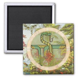 Lucky Snake | Zodiac magnet