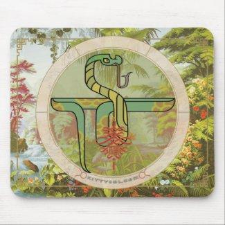 Lucky Snake | Zodiac mousepad