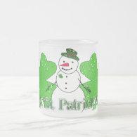 Lucky Snowman Coffee Mug