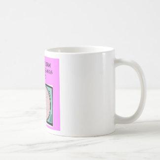 lucky sperm insult classic white coffee mug